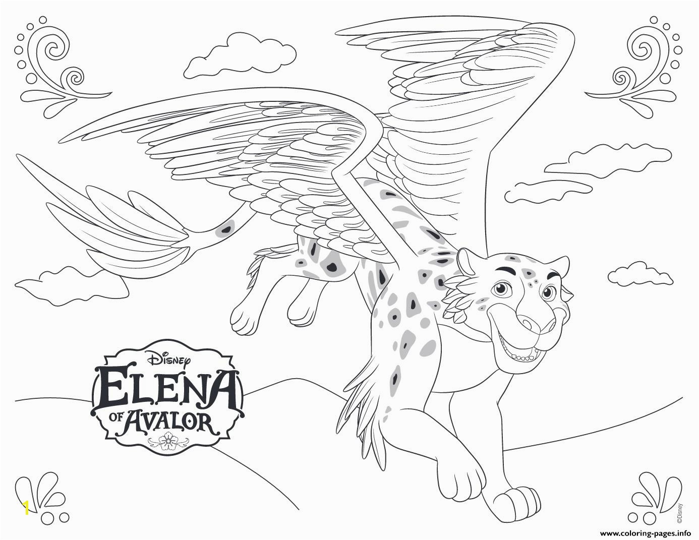 Cool Liberal Princess Elena Coloring Page Pages Fre 7739 Unknown