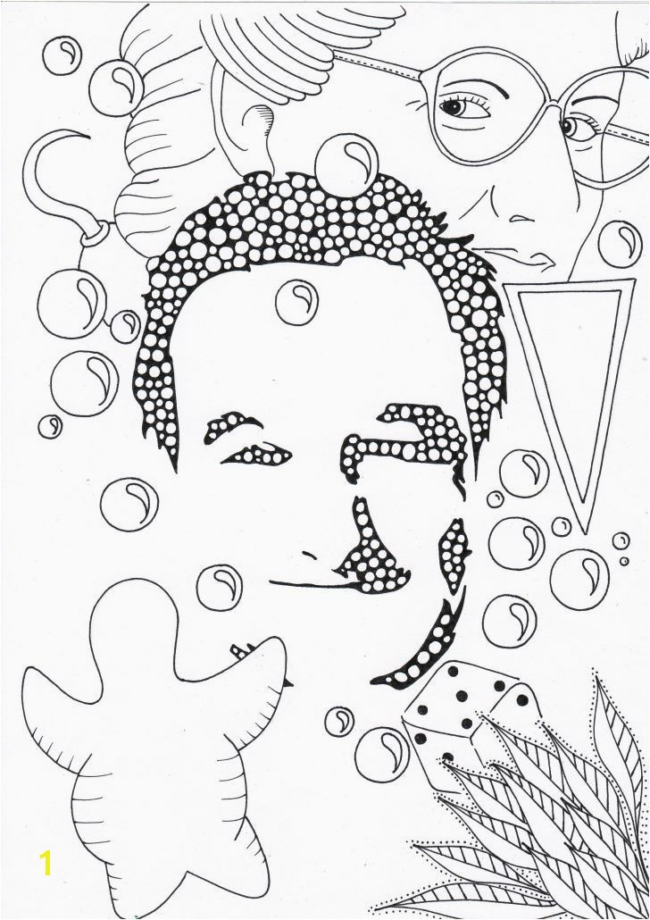 Elvis Coloring Pages Freddy Coloring Pages Luxury Coloring Pages Faces Awesome Line