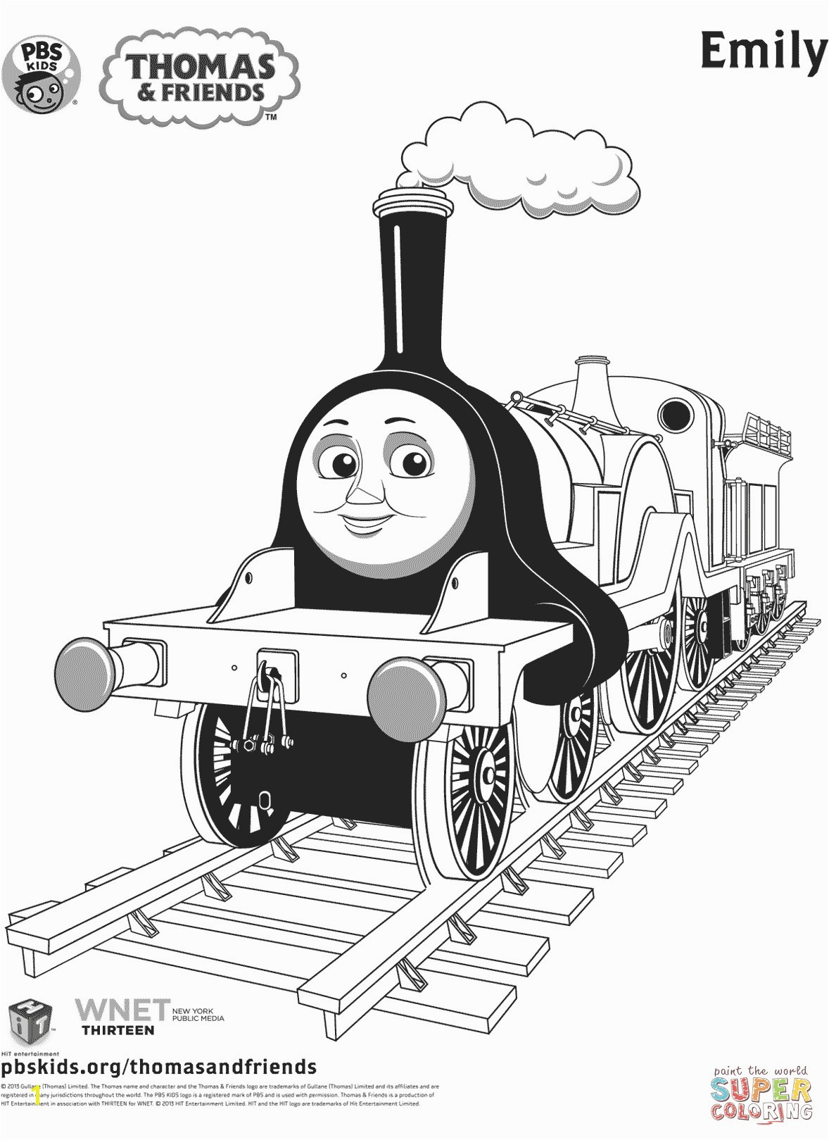 Emily from Thomas & Friends