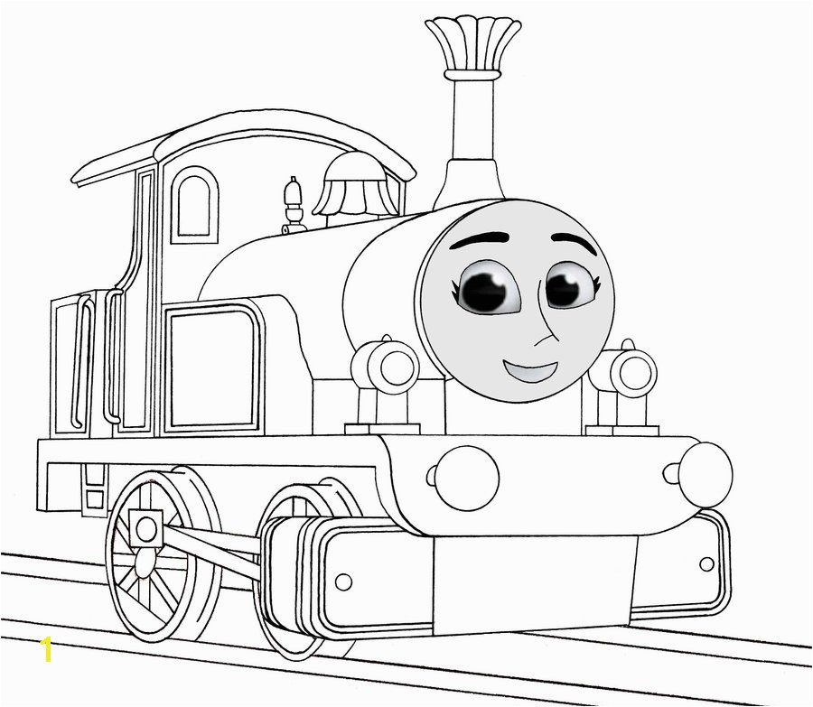 900x783 the tank engine coloring pages