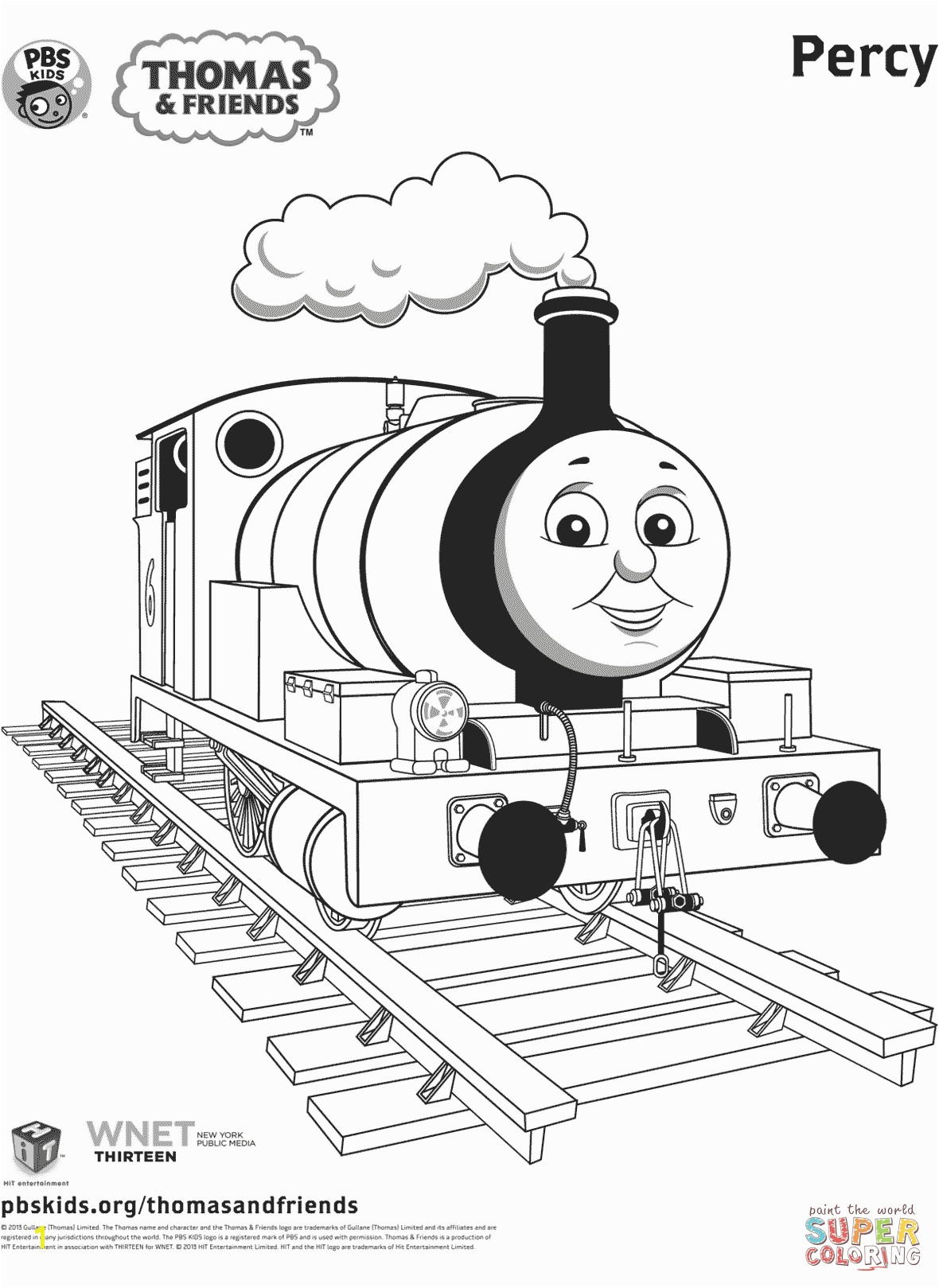 10 Gellery of thomas the train coloring sheets