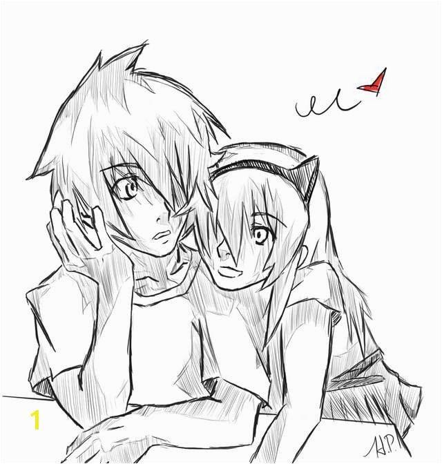 Anime Chibi Coloring Pages for Girls Free Luxury Emo Couple Coloring Pages Cute Couple Coloring Pages