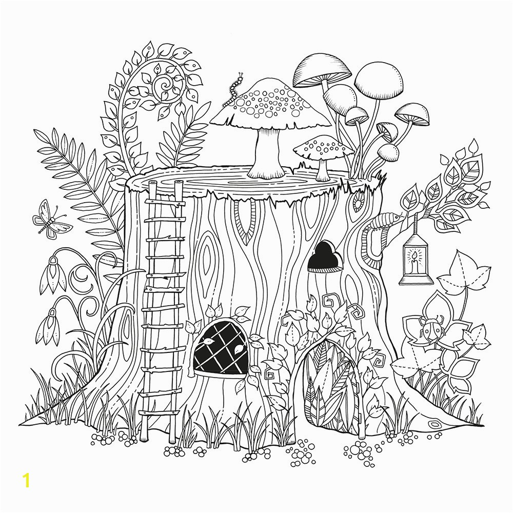 Enchanted forest Coloring Pages Pdf Best forest Coloring Pages Coloring Book Ribsvigyapan forest