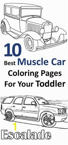 Top 25 Free Printable Muscle Car Coloring Pages line