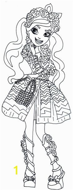 Free Printable Ever After High Coloring Pages Pages to color Pinterest