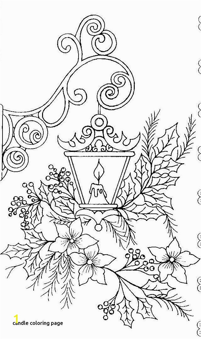 Leaf Coloring Pages Best S S Media Cache Ak0 Pinimg originals 0d 1d 64 for Candle