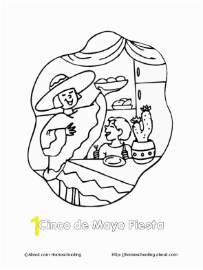 Fiesta Coloring Pages Free Free Printables for Cinco De Mayo Holidays Pinterest