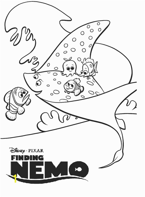 Free Nemo Coloring Pages Finding Nemo Coloring Pages