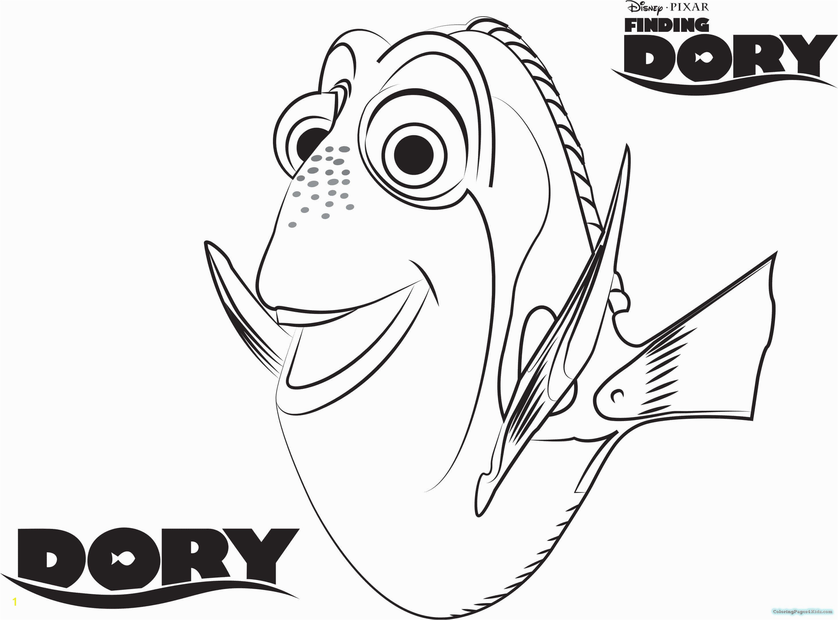 Finding Nemo Coloring Book Fresh Finding Dory Coloring Book Coloring Pages