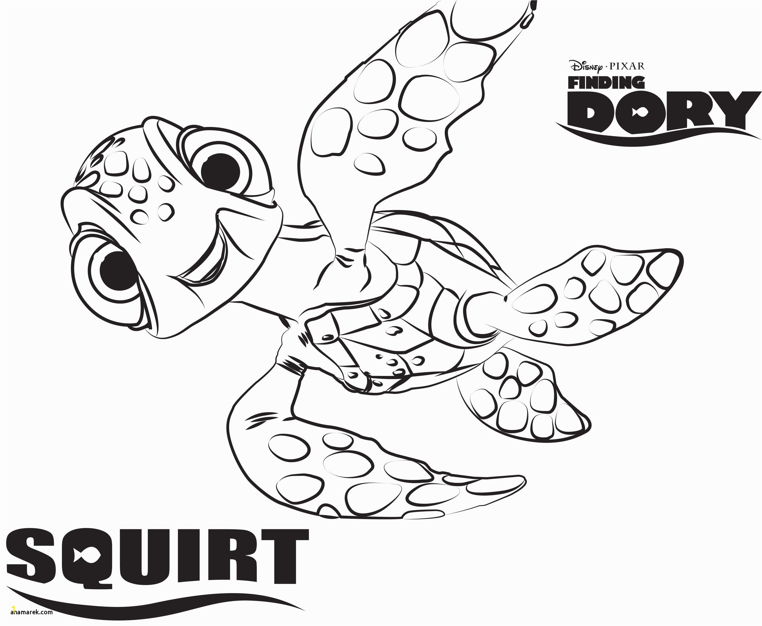 Finding Nemo Coloring Book Inspirationa Finding Dory Coloring Book Unique Finding Nemo Coloring Pages Disney