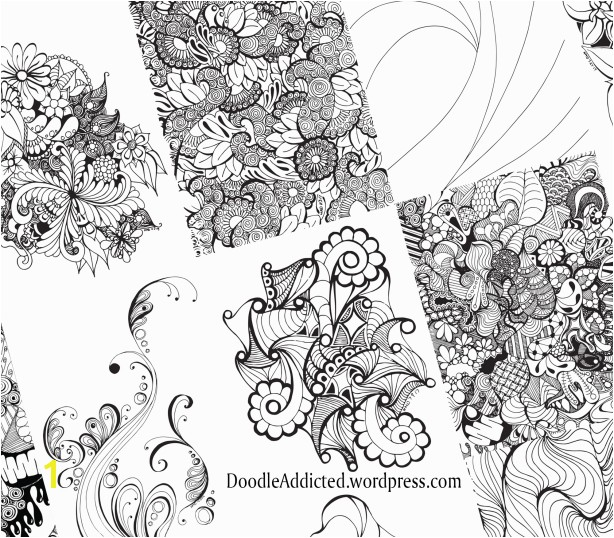 Finished Coloring Pages for Adults Adult Coloring Book Finish Fill and Frame It