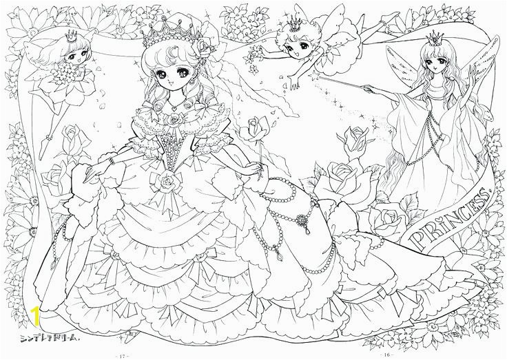 Coloring Manga Pages Very Detailed Anime Fairy Tale Coloring Page Manga Coloring Pages Pdf