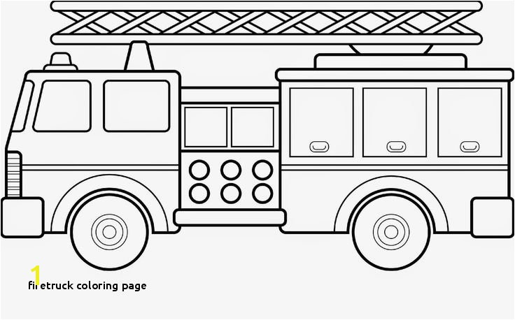Firetruck Coloring Page 21 Best Winter Pinterest