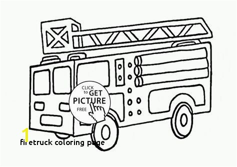 Firetruck Coloring Page Fire Truck Coloring Pages Firetruck 80 Transportation – Printable