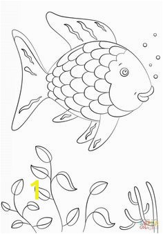 Rainbow Fish coloring page from Rainbow Fish category Select from printable crafts of cartoons nature animals Bible and many more