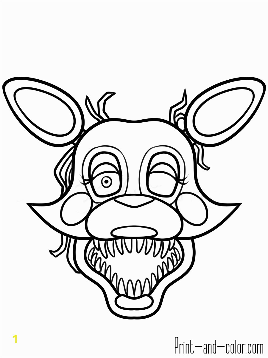 Five Nights At Freddy S Coloring Pages Print And Color
