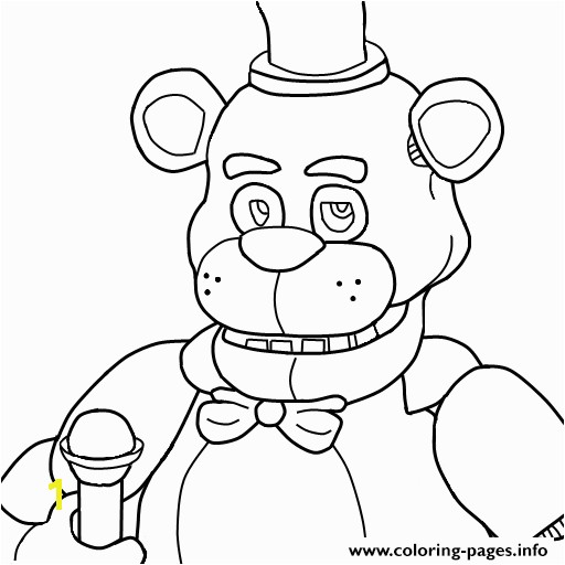 Print five nights at freddys fnaf coloring pages