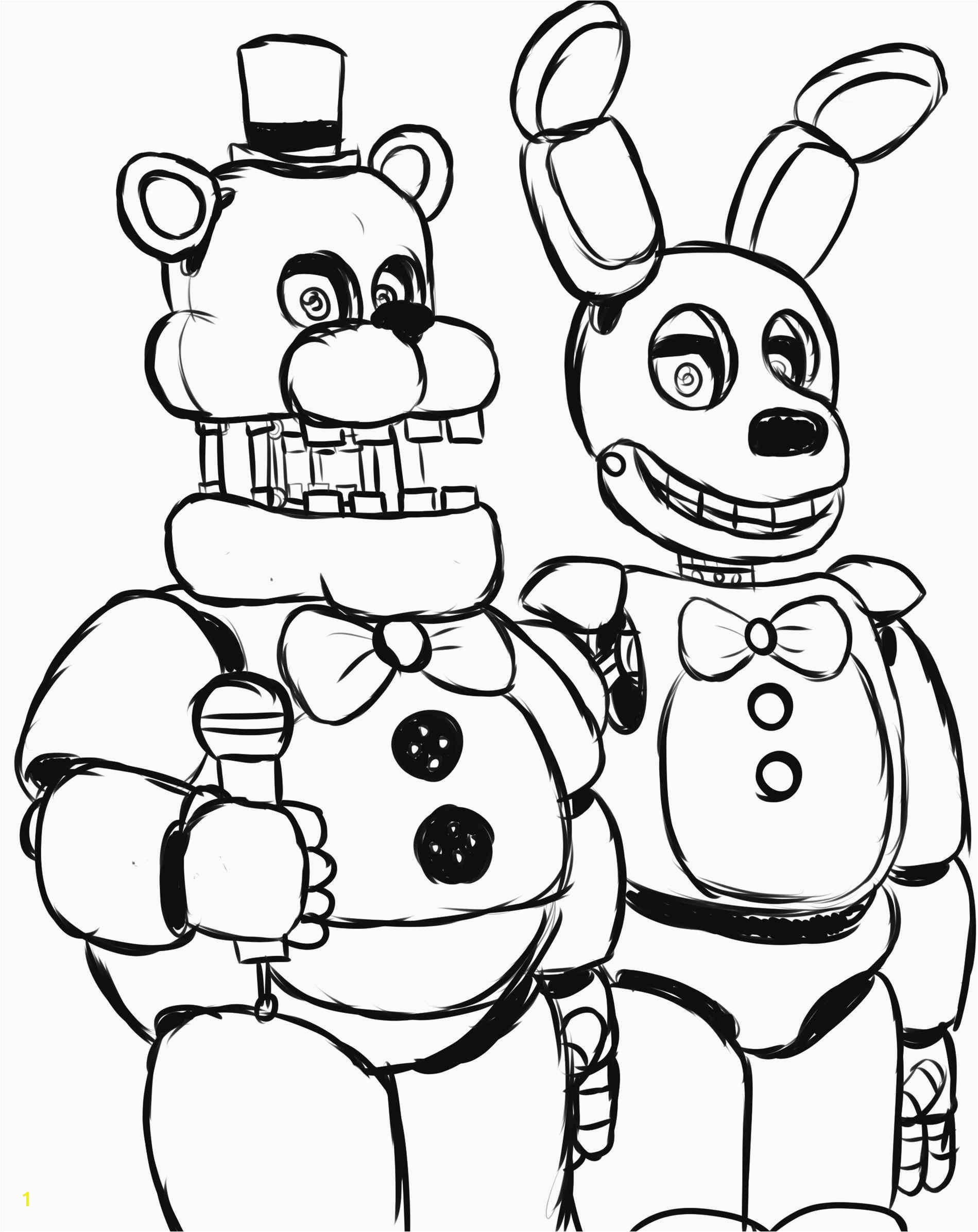 Fnaf Coloring Pages Printable Elegant S Coloring New Five Nights at Freddy S Coloring Pages