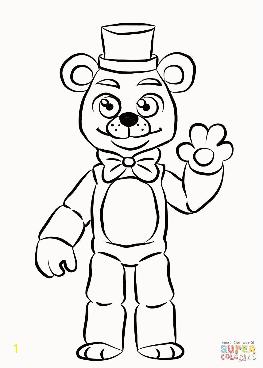 Fix It Felix Coloring Pages Beautiful Impressive toy Bonnie Coloring Pages Fnaf Chic Unknown Fix
