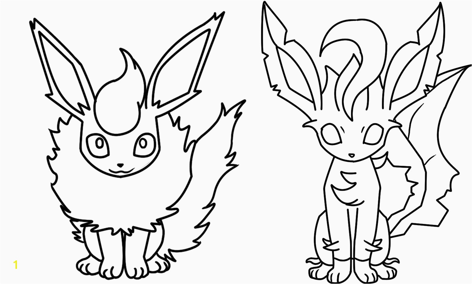Vaporeon Coloring Pages Inspirational Fantastic Flareon Pokemon Coloring Page Frieze Coloring Page Ideas