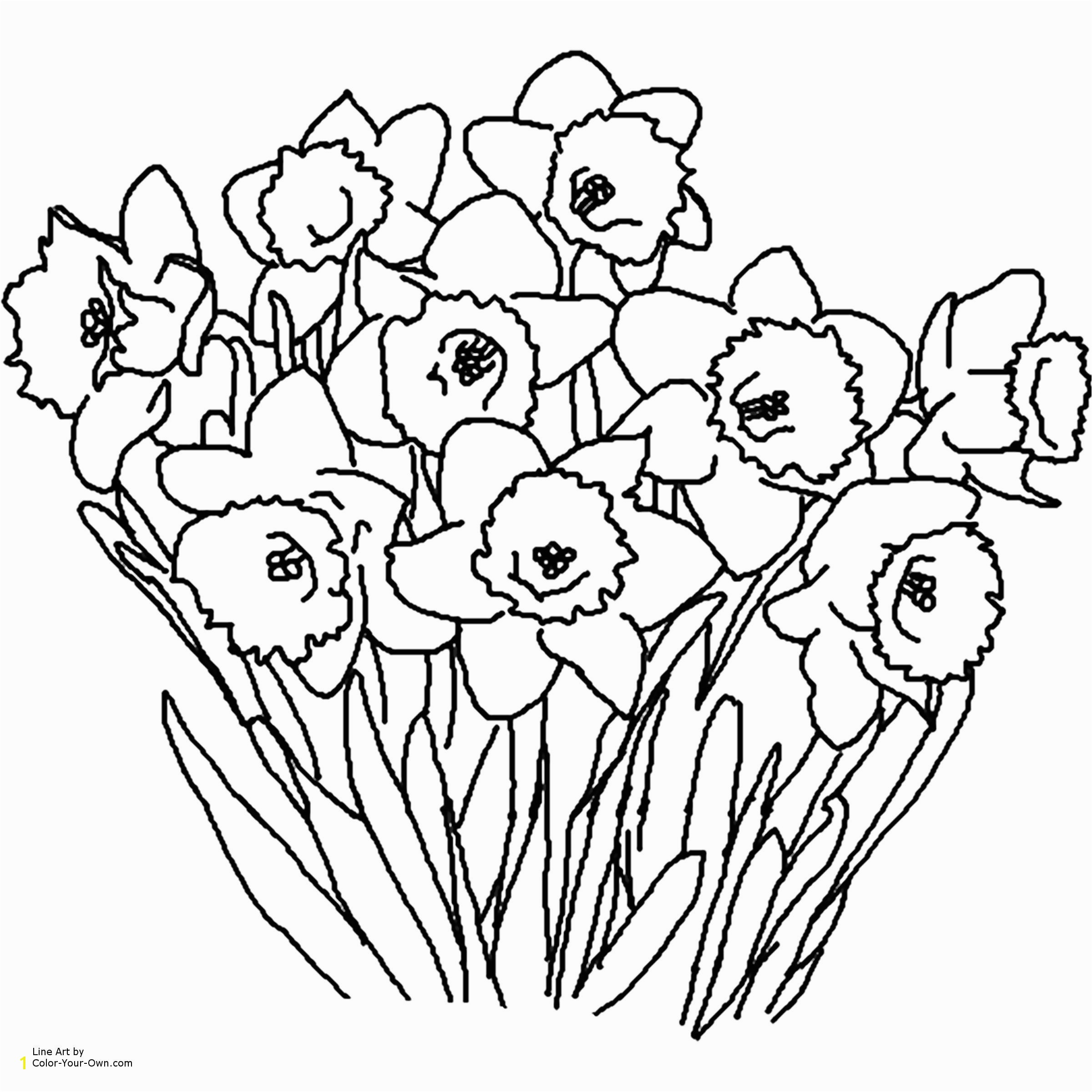Flower Coloring Pages Printable for Adults New S S Media Cache Ak0 Pinimg originals 0d 1d 64