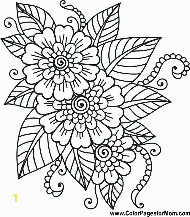flower coloring sheet flower coloring page likeable adult pages mandala 0 flower colouring pages to print