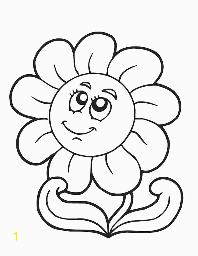 Spring Flowers Coloring Pages Your child is bound to be fascinated with colors and the freedom to experiment with different colors