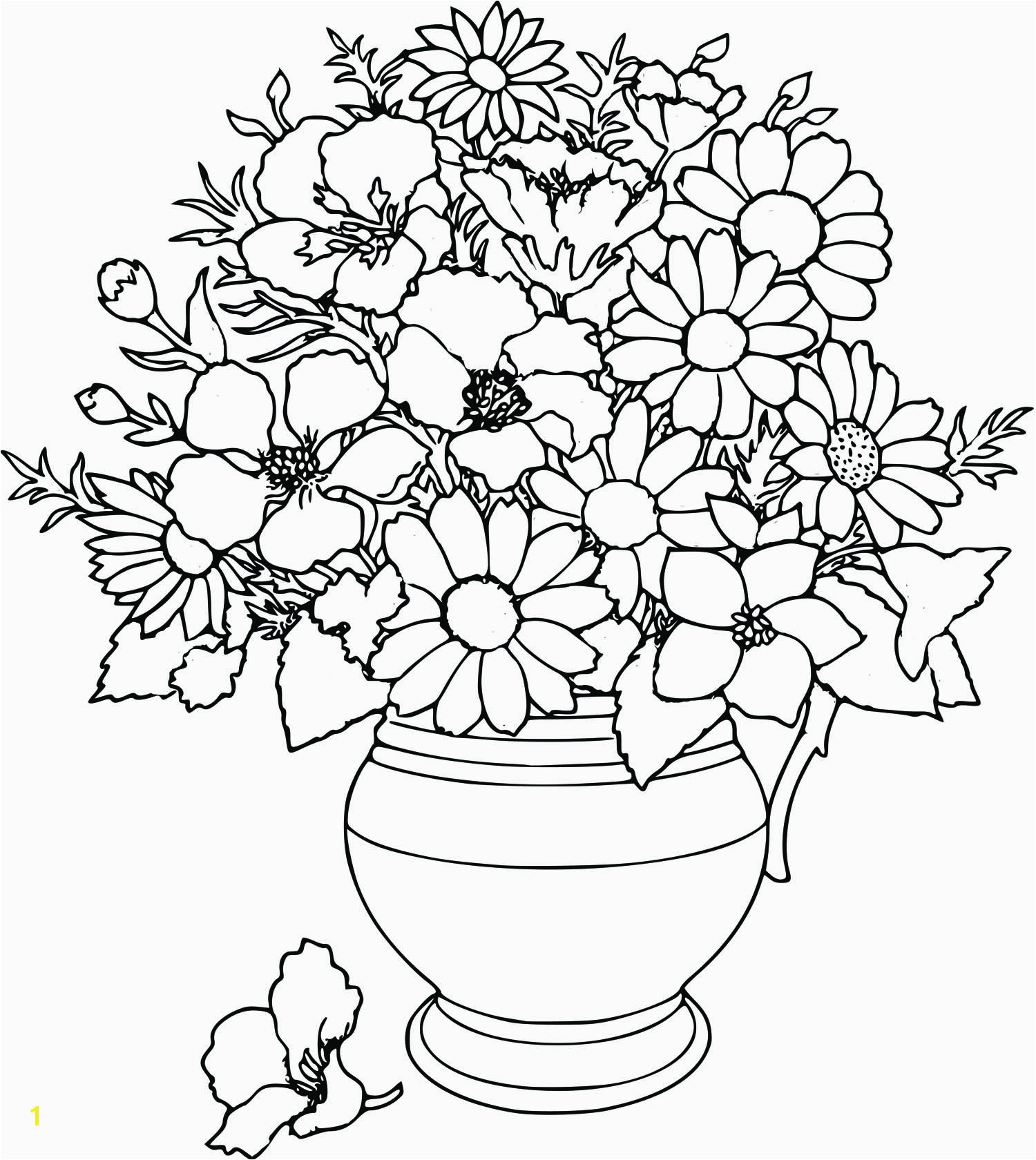 Best of Free Flower Coloring Pages Printable Download 3 o Flower Coloring Pages Printable