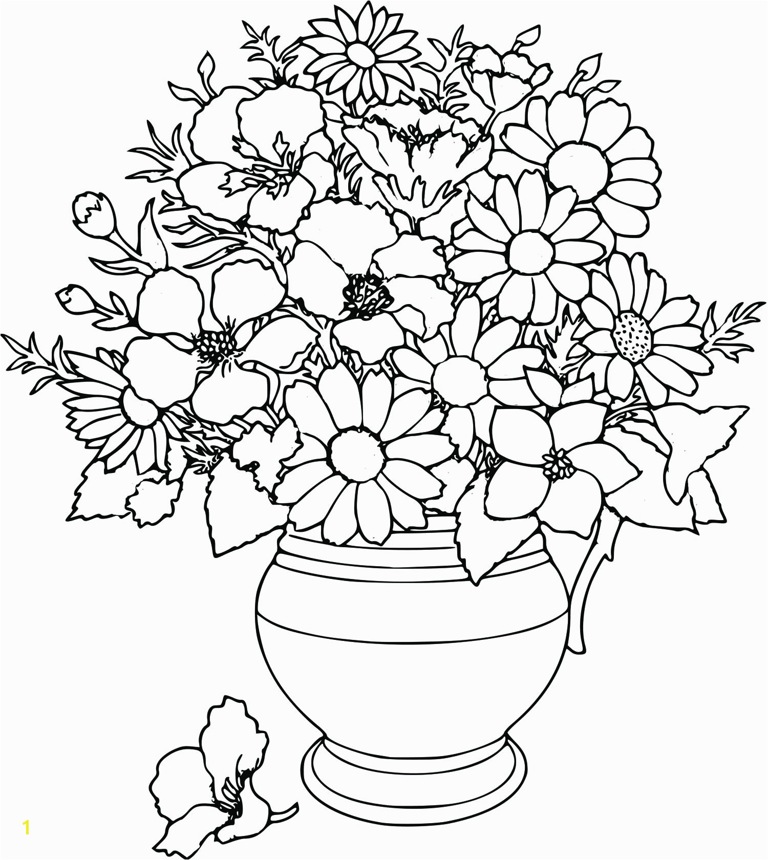 Free Flower Coloring Pages Printable 15 C 20 Beautifull Sheets Flowers