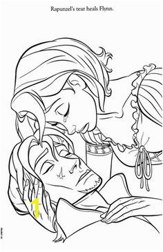 Flynn Rider and Rapunzel Coloring Pages 156 Best Tangled Colouring Pages Images On Pinterest