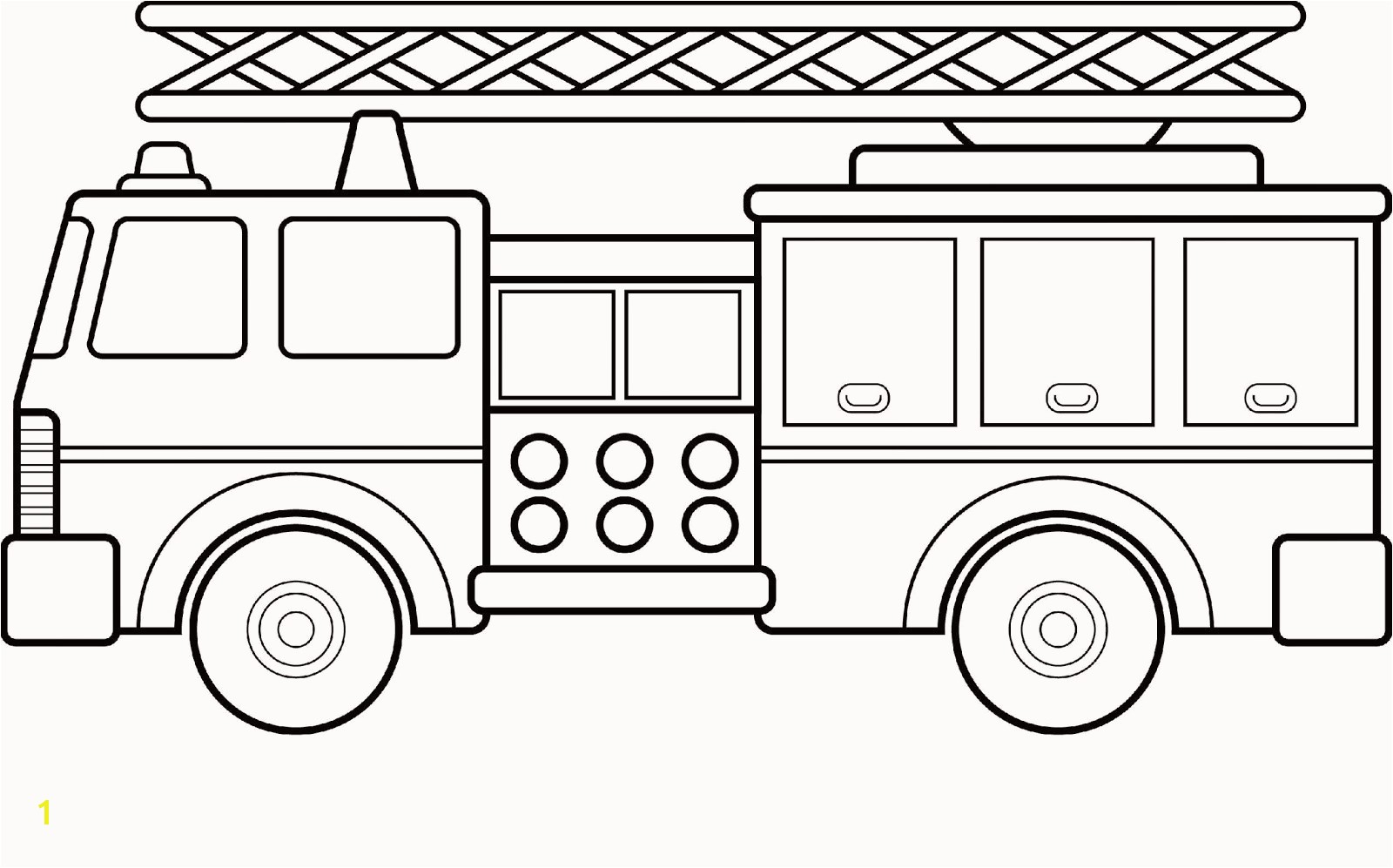 Gallery of truck coloring page