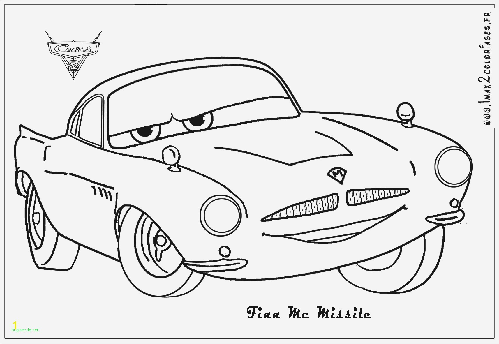 Francesco Cars 2 Coloring Pages Lovely Colouring Pages Disney Cars 2