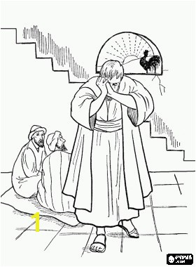 Free Coloring Pages Ark the Covenant Inspirational Following the Arrest Jesus In the Palace