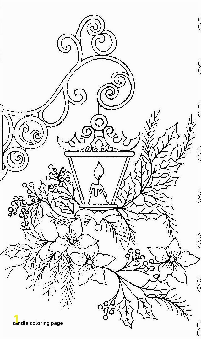 Free Coloring Pages Christmas Awesome S S Media Cache Ak0 Pinimg originals 0d 1d 64 for Candle