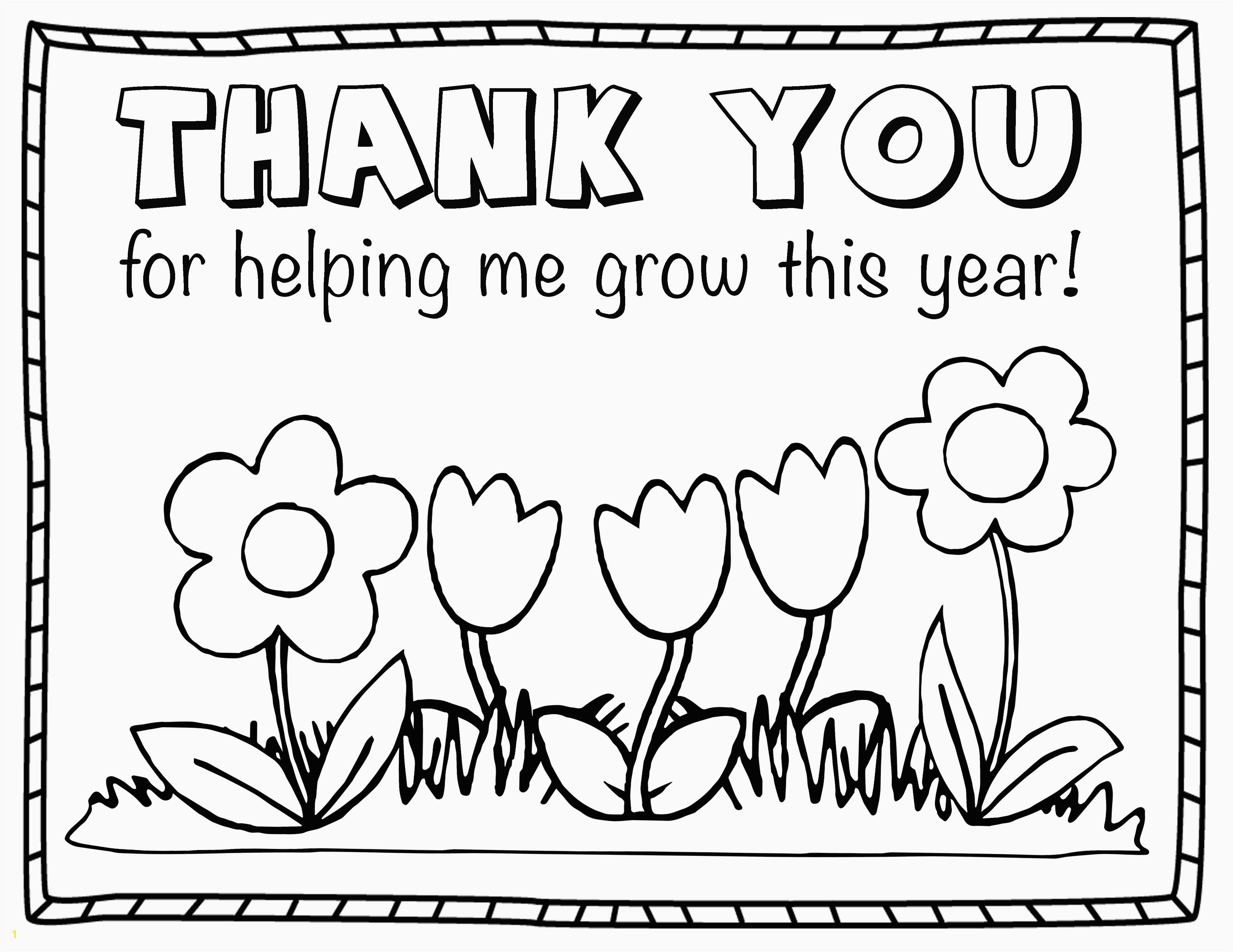 thank you teacher coloring pages collection