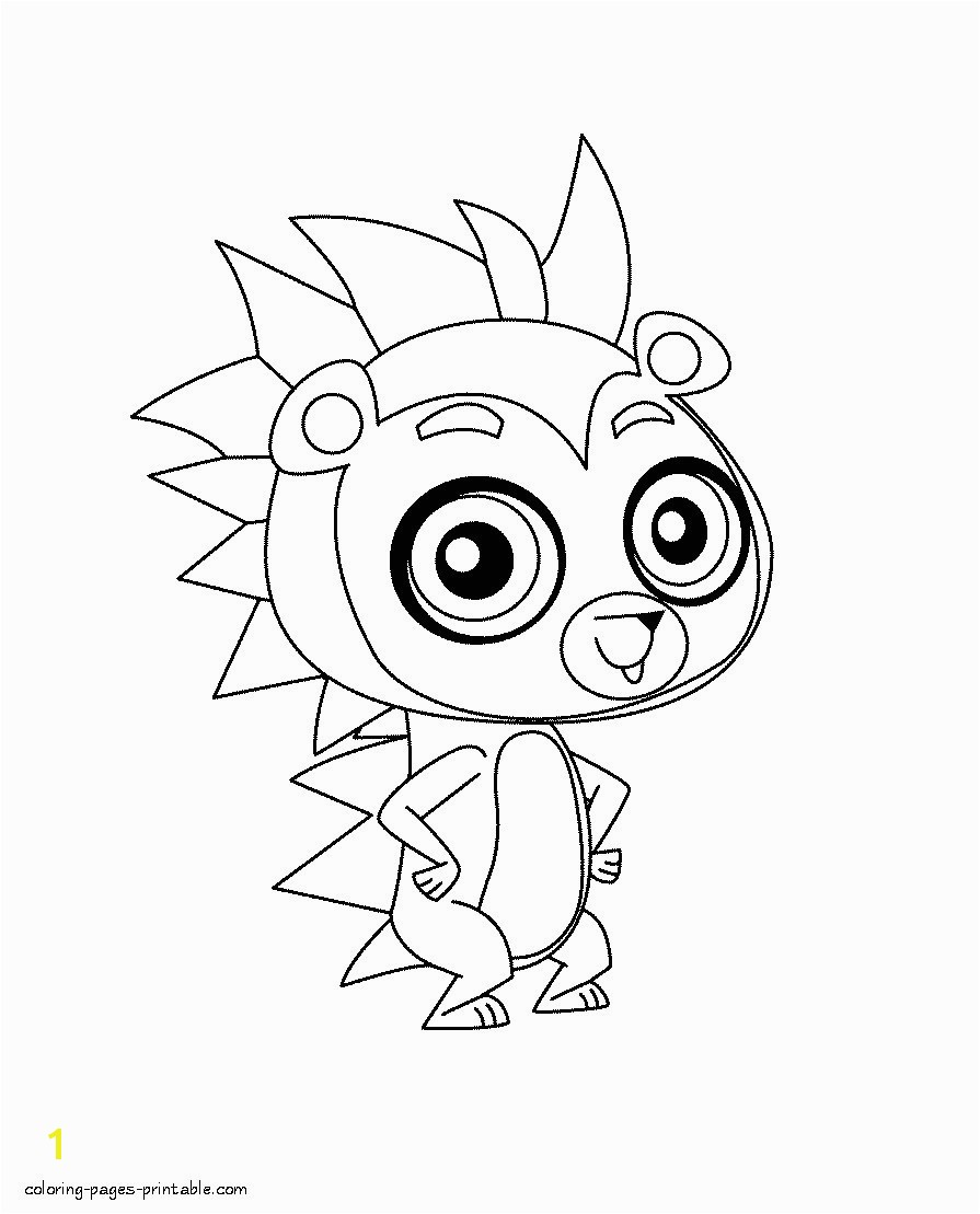 Littlest Pet Shop Coloring Pages Littlest Pet Shop Free Printable Coloring Pages Elegant Cartoon