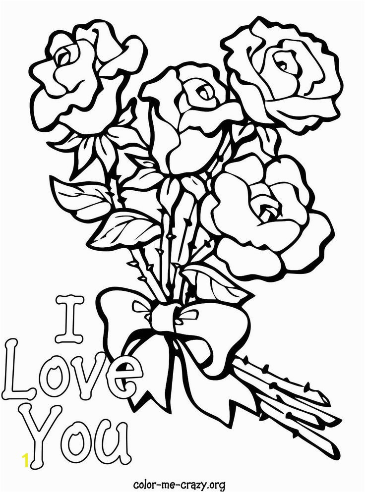 136 Best Roses to Color Pinterest Rose Coloring Page