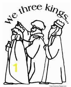 Bible coloring sheets and pictures 09 Wise men