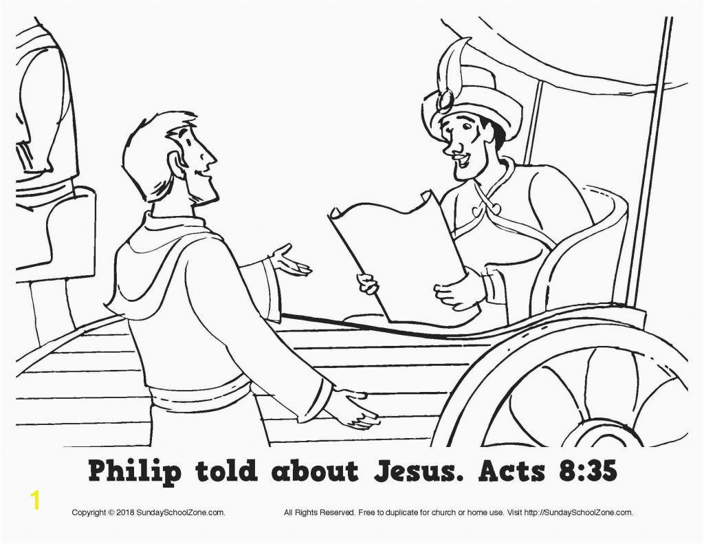 Free Coloring Pages Philip and the Ethiopian Best Free Coloring Pages Philip and the Ethiopian Page