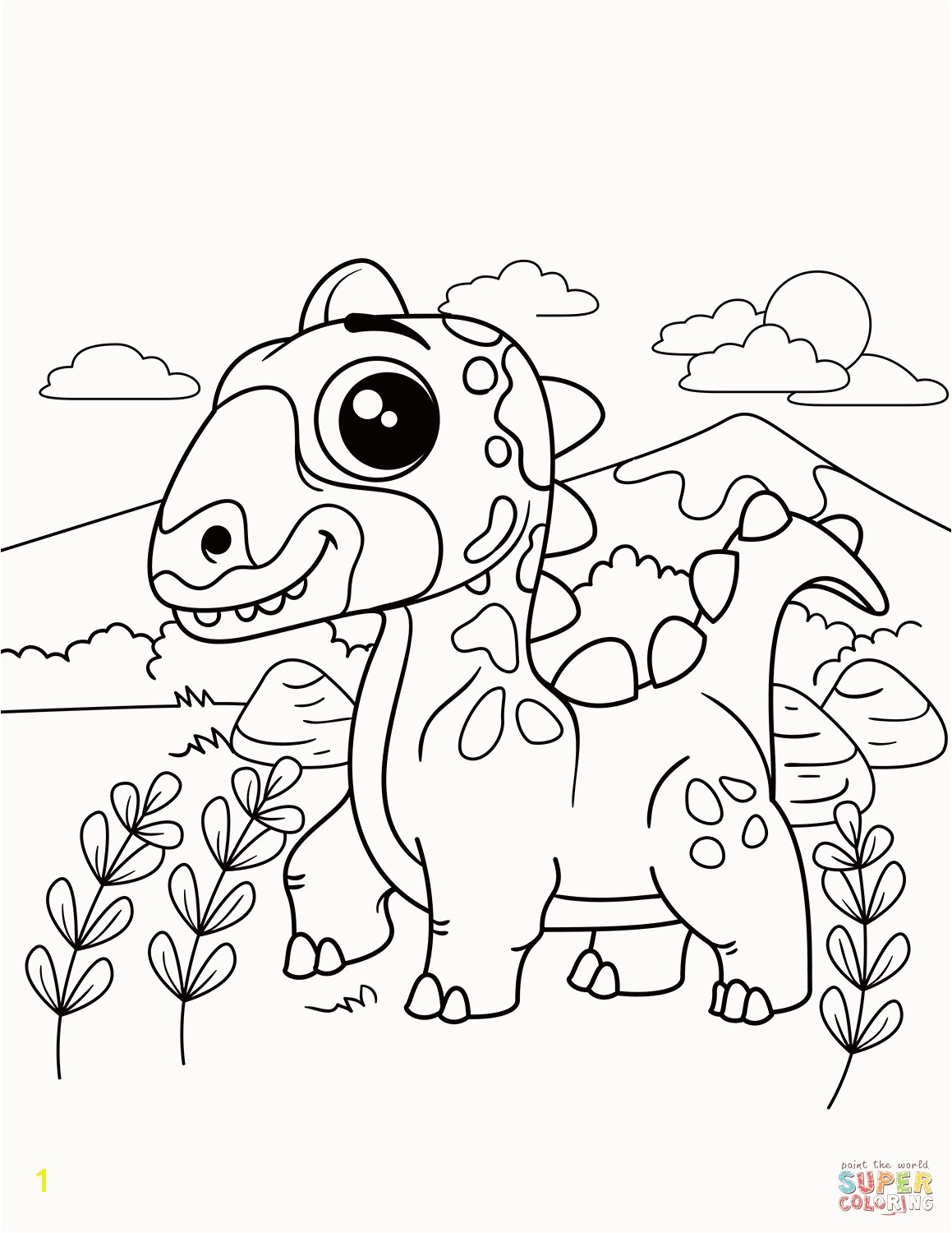 Free Dinosaur Coloring Pages Pdf Dinosaur Printable Coloring Pages Beautiful Free Printable Coloring
