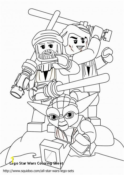 26 Lego Star Wars Coloring Sheet