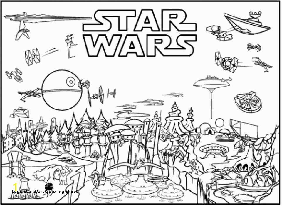20 Free Printable Lego Star Wars Coloring Pages EverFreeColoring