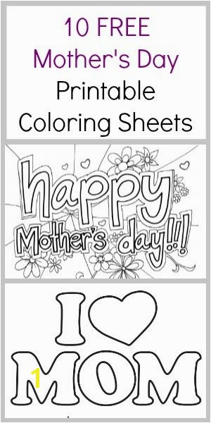 10 FREE Mother s Day Coloring Sheets
