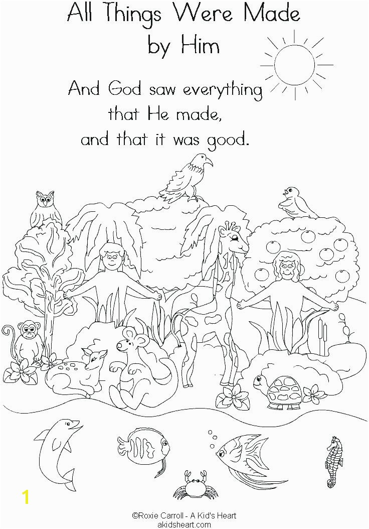 Coloring Pages Gods Creation Creation Coloring Pages Fun Time Printable Coloring Coloring Pages Creation For Toddlers Vacation Coloring Pages Creation