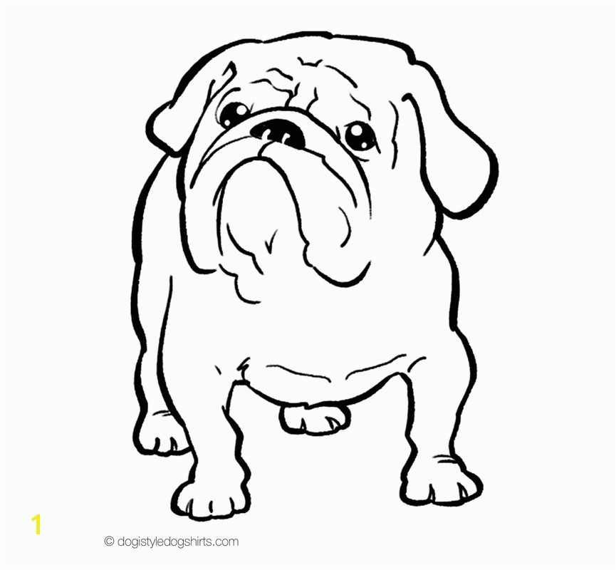 Bulldog Coloring Pages Fascinating Bulldog Coloring Pages 64 French Page Free Printable