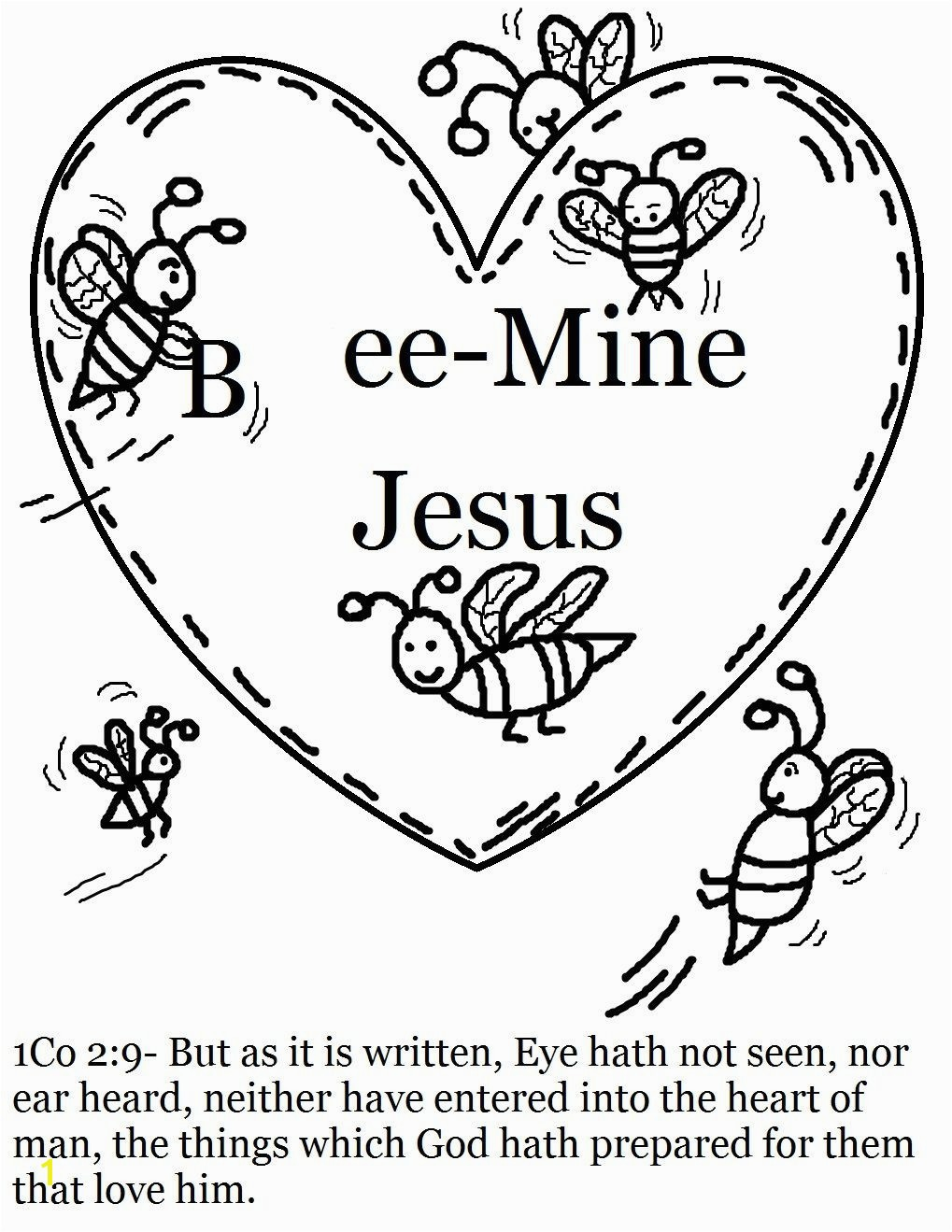 Printable Christian Valentine Coloring Pages With Inspiring Day For Sunday School U Pilular