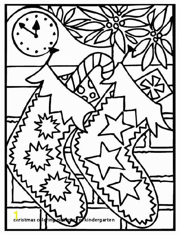 Free Printable Christmas Coloring Pages for Preschool Christmas Coloring for Kindergarten Printable Coloring
