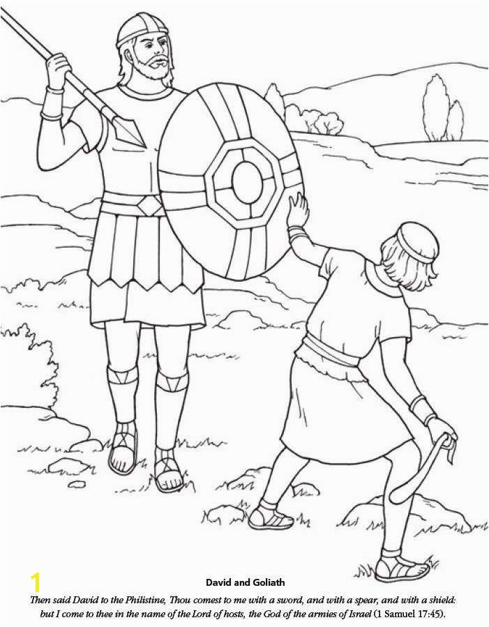 David and Goliath Coloring Pages Lovely Use This Free Printable David and Goliath Bible Activity Coloring