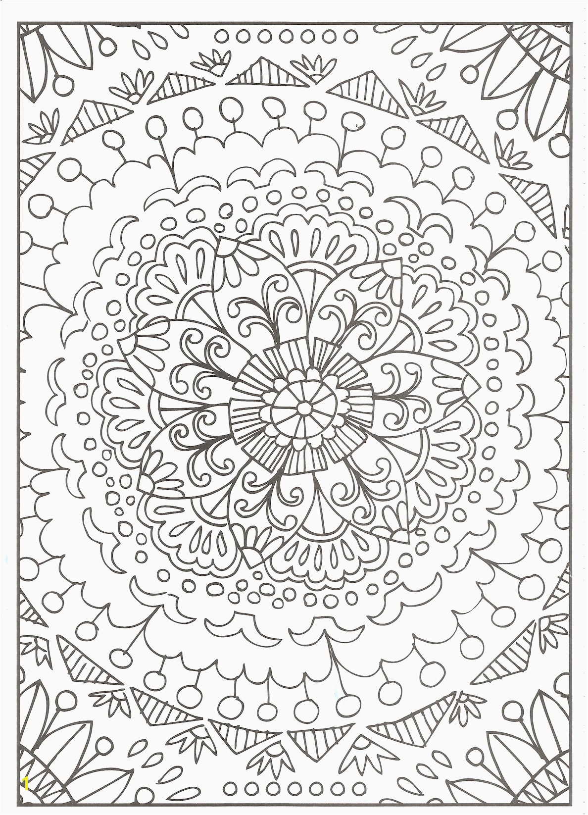 Free Printable Coloring Pages Adults Free Printable Flower Coloring Pages for Adults Inspirational Cool