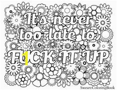 Free Printable Coloring Pages Adults Only Amazon Be F Cking Awesome and Color An Adult Coloring Book